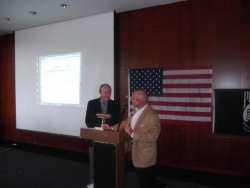 Speaking at the Atlanta Vietnam Veterans Business Association